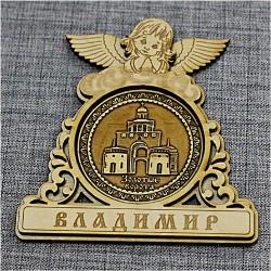 """Магнитное укр. круг.ангел """"Золотые ворота"""""""