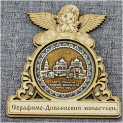 """Магнитное укр. круг.ангел """"Три собора"""""""