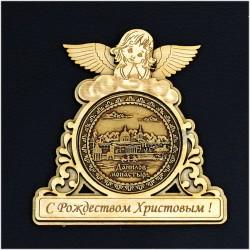 """Магнитное укр. рождеств.ангел """"Данилов монастырь"""""""