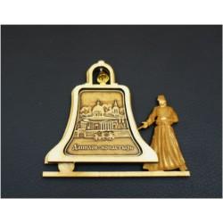 """Магнитное укр. монах с колоколом""""Данилов монастырь"""""""