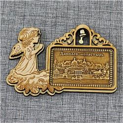 """Магнитное укр. прям.рожд.ангел с колокольчиком""""Данилов монастырь"""