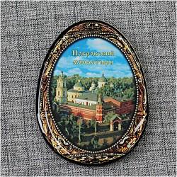 """Магнит из смолы яйцо """"Покровский монастырь"""""""