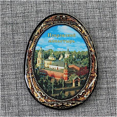 """Магнитное укр. яйцо """"Покровский монастырь"""""""