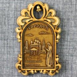 "Магнитное укр.арка с кол-м ""Федоровский монастырь+монах"""