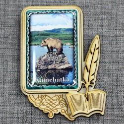 """Магнитное укр. прям.книга """"Медведь"""""""