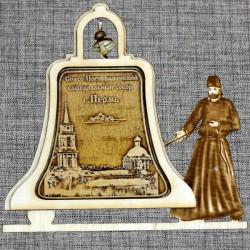 """Магнитное укр. монах с колоколом """"Спасо-Преображенский собор"""""""