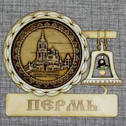 """Магнитное укр. с колоколом """"Свято-Троицкий мужской монастырь"""""""