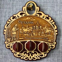 """Ключница (3) с колокольчиком """" Рождественский собор"""""""
