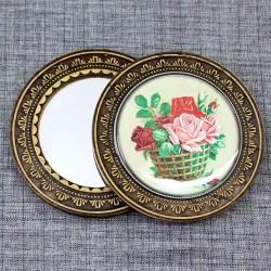 "Зеркало ""Корзина с розами"""