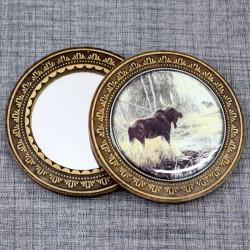 """Зеркало """"Лось"""""""