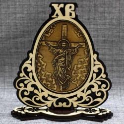 "Молитва на подставке ХВ ""Иисус+Отче наш"""