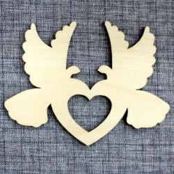 Голуби с сердцем