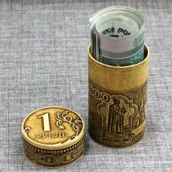 """Тубус под деньги """"Рубль"""""""