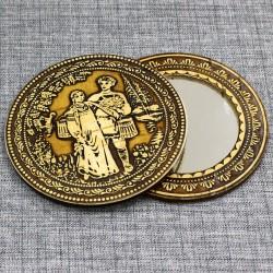 """Зеркало круглое """"Иван да Марья"""""""