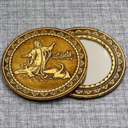 """Зеркало круглое """"Царевна-лебедь"""""""