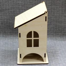 Чайный домик с одинарной крышей
