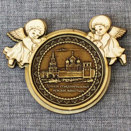 """Магнитное укр. ангелы """"Донской ставропигиальный мужской монастыр"""