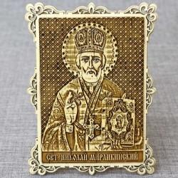 """Икона """"Святителя Николая Мирликийского чудотворца """""""