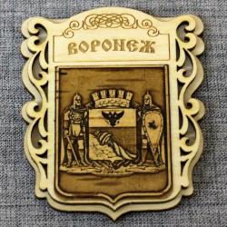 """Магнит из бересты """"Герб"""" (городской округ)"""