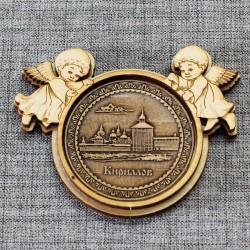 "Магнит из бересты ангелы ""Кирилло-Белозерский монастырь"""