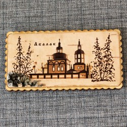 """Магнит на холодильник """"Абалакский монастырь"""""""