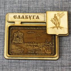 """Магнит из бересты герб """"Городище"""" Елабуга"""