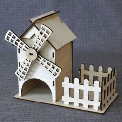 Чайный домик Мельница