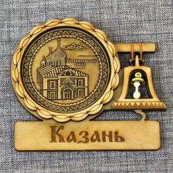 """Магнит из бересты с колоколом """"Богоявленский собор"""""""