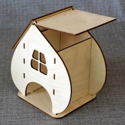 Чайный домик широкий
