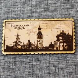 """Магнит на холодильник """"Вологодский Кремль"""""""