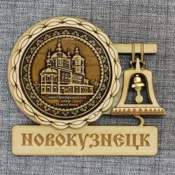 """Магнит из бересты с колоколом """"Преображенский собор"""""""
