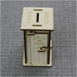 Копилка-туалет «Деньги не пахнут»