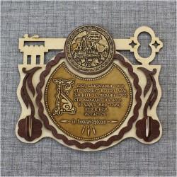 "Ключница-ключ (2) с молитвой ""Св.Н.С."" Тр-Сергиева Лавра"