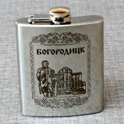 """Фляжка """"Дворец графов Бобринских"""" Богородицк"""