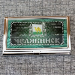 """Визитница """"Герб """" Челябинск"""