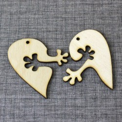 Сердце на двоих (набор 5шт)