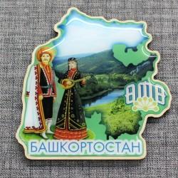 "Магнит со смолой ""Башкоторстан"""