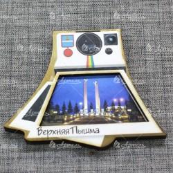 """Магнит цветной фотоаппарат """"Стелла Жиравли"""" Верхняя Пышма"""