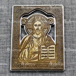 """Икона """"Иисус"""" (серебро)"""