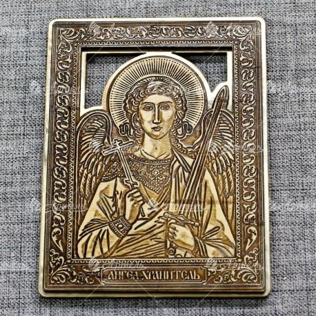 """Икона """"Ангел хранитель"""" (золото)"""