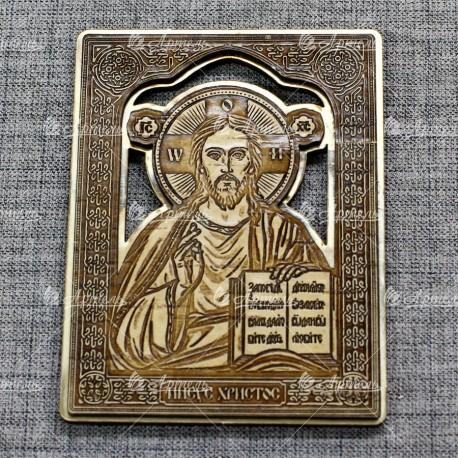 """Икона """"Иисус"""" (золото)"""