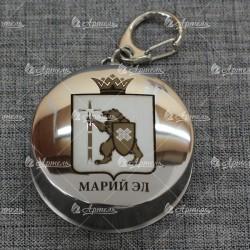 "Брелок-стопка ""Герб"" Марий Эл"