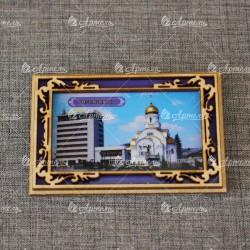 """Магнит """"Церковь при ж/д вокзале"""""""
