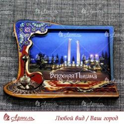 """Магнит цветной ковер """"Стелла Журавли"""" Верхняя Пышма"""
