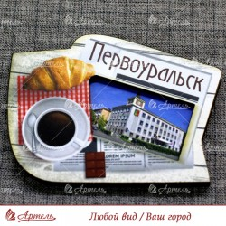"""Магнит цветной газета """"Администрация"""" Первоуральск"""