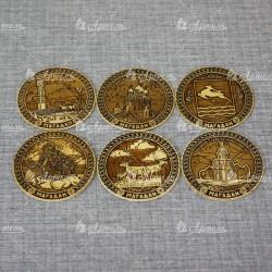 Костерс Магадан (6 штук) набор
