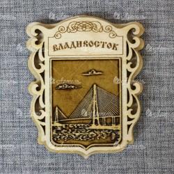 """Магнит из бересты """"Мост"""" (вид2)"""