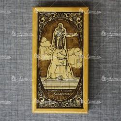 """Набор (ручка+брелок) """"Памятник Ерофею Хабарову"""""""