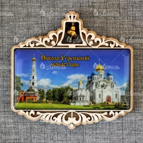 """Магнит со смолой прям.с кол-м """"Николо-Угрешский монастырь"""" Москва"""