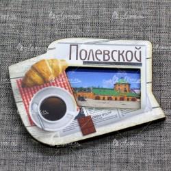 """Магнит цветной газета """"Северский завод"""" Полевской"""